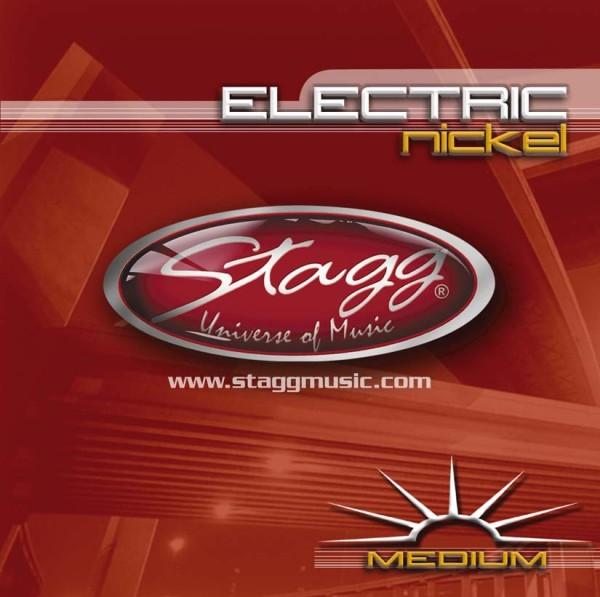 STAGG EL-1152 Vernickelter Stahl Saitensatz für E-Gitarre