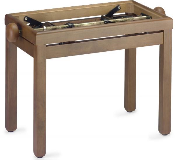 STAGG PB39 WN M Matt, Klavierbank, Farbe Walnuss, ohne Sitzfläche