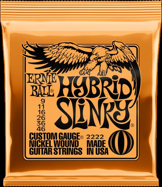 ERNIE BALL Slinky Nickel Hybrid 09-46