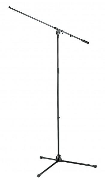 K&M 21021 Overhead-Mikrofonstativ schwarz