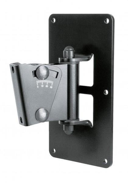 K&M 24481 Boxenwandhalter schwarz