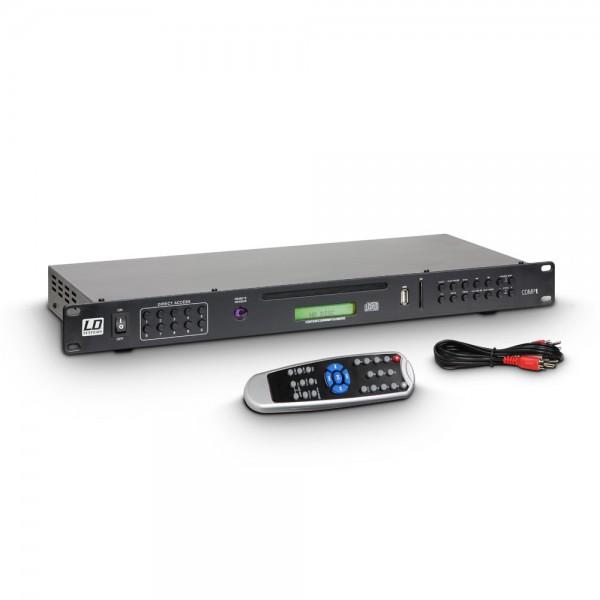 LD Systems CDMP 1 - Multimedia Spieler CD, USB, SD, MP3