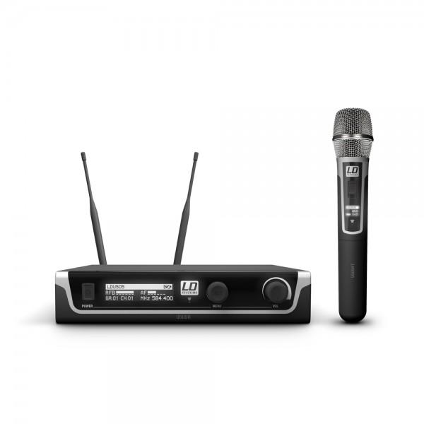 LD Systems U505 HHC - Funkmikrofon System mit Handmikrofon Kondensator