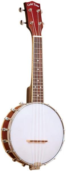GOLD TONE BUS 4-Saiter Sopran Banjo-Ukulele mit Case