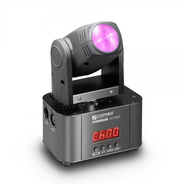 Cameo HYDRABEAM 100 RGBW - Lichtanlage mit ultraschnellem 10 W CREE RGBW Quad-LED Moving Head