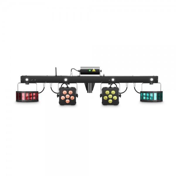 Cameo MULTI FX BAR - Lichtanlage mit 5 Lichteffekten für mobile DJs und Bands