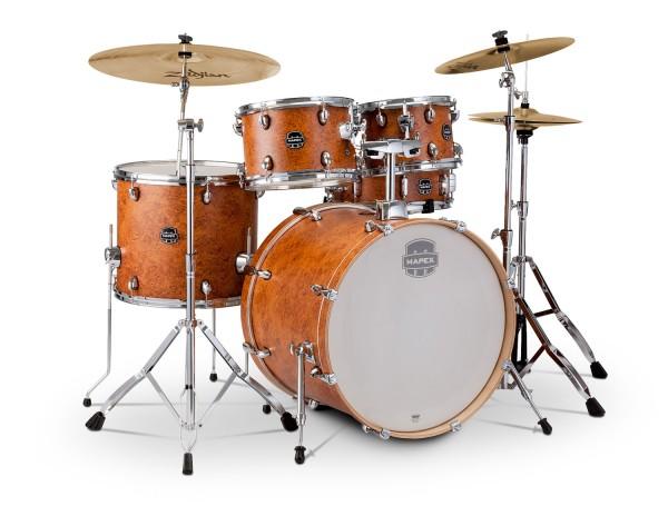 Mapex Schlagzeug Storm Fusion camphor wood grain mit Planet Z