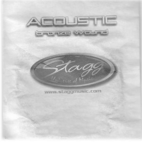 """STAGG BRW-039 Einzelsaite Bronze wound für Akustikgitarre - 0.039"""""""