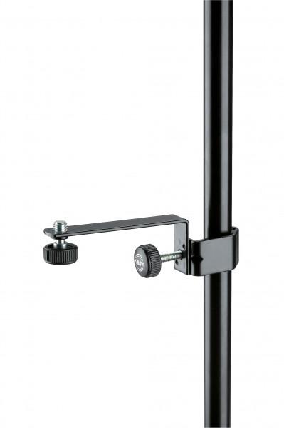 K&M 238 Mikrofon-Halteschiene schwarz