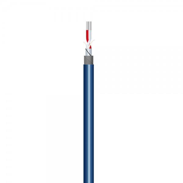 Adam Hall Cables Omega Pro 222 B - Mikrofonkabel 2 x 0,22 mm² blau