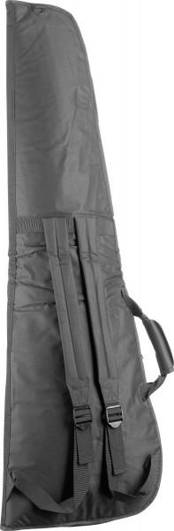 STAGG STB-10 TB Basic Serie wasser-abweisende gepolsterte Nylontasche für E-Bassgitarre, dreieckiges