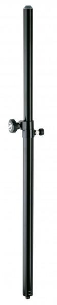 K&M 21357 Distanzrohr mit Gasdruckfeder schwarz