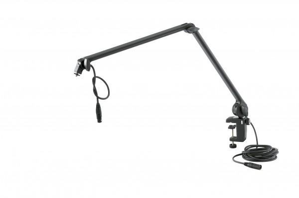 K&M 23860 Mikrofonarm schwarz