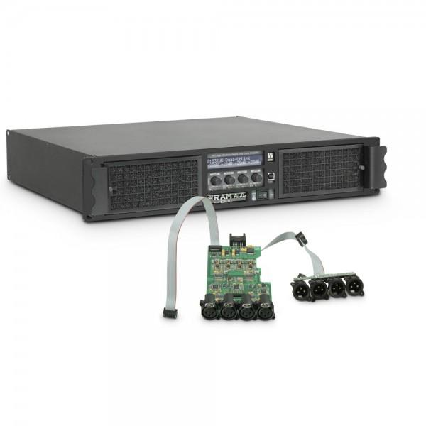 Ram Audio W 12044 DSP - PA Endstufe 4 x 2950 W 4 Ohm inkl. DSP Modul