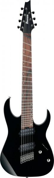 Ibanez RG Serie E-Gitarre 7 String Multiscale Black Aussteller