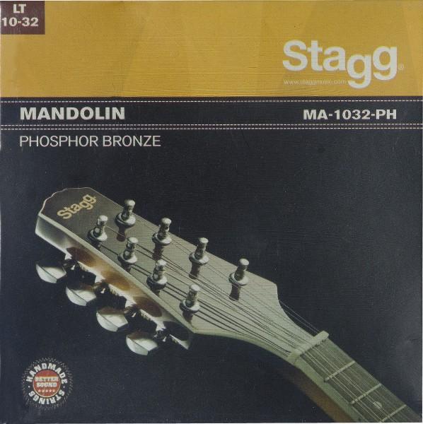 STAGG MA-1032-PH Phosphor Bronze Saitensatz für Mandoline