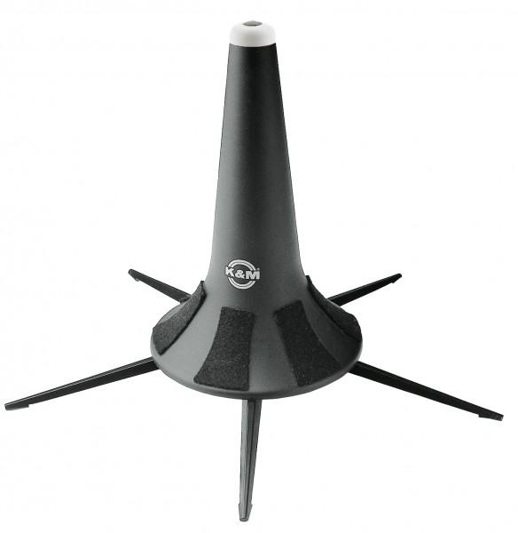 K&M 15240 Flügelhornständer schwarz