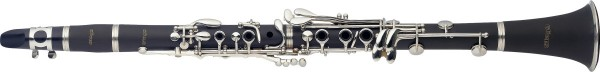 STAGG WS-CL210S Bb Klarinette, Boehm System, ABS-Korpus, vernickelte Klappen und Ringe