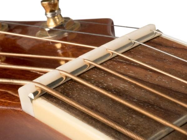 ZERO GLIDE ZS-14 Sattel, gekerbt, Ersatz, für Gitarre