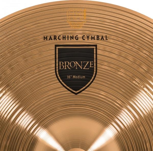 "Meinl MA-BO-16M Cymbals Marching Medium 16"""
