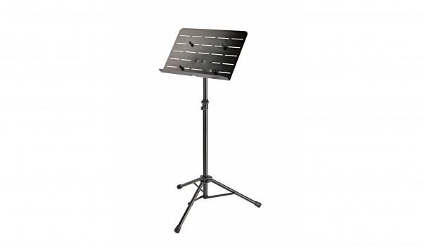 K&M 11965 Orchesternotenpult mit Tablet-Aufnahme schwarz