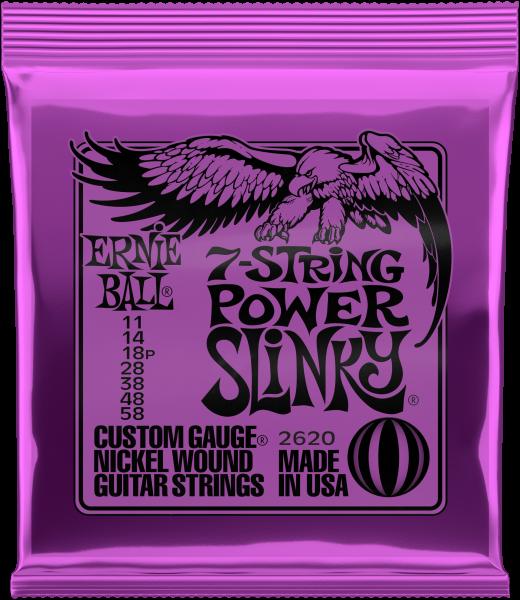 ERNIE BALL Slinky Nickel 7-String Power 11-58