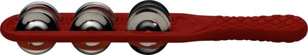 STAGG JSK-6/RD Kunststoff Jingle Stick m. 6 Schellen