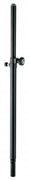 K&M 21356 Distanzrohr mit Gasdruckfeder schwarz