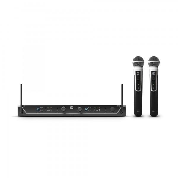 LD Systems U304.7 HHD 2 - Funkmikrofon System mit 2 x Handmikrofon dynamisch - 470 - 490 MHz