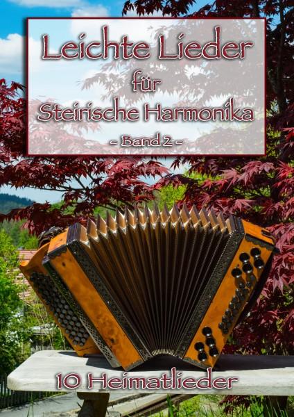Leichte Lieder für Steirische Harmonika Band 2