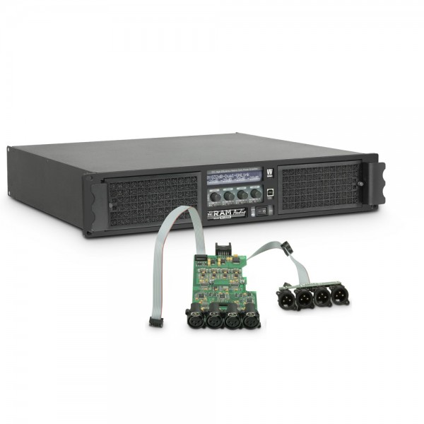 Ram Audio W 12004 DSP - PA Endstufe 4 x 3025 W 2 Ohm inkl. DSP Modul