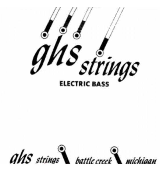 """GHS CC105 105 """"Contact Core Super Steel"""" Einzelsaite für Bassgitarre"""