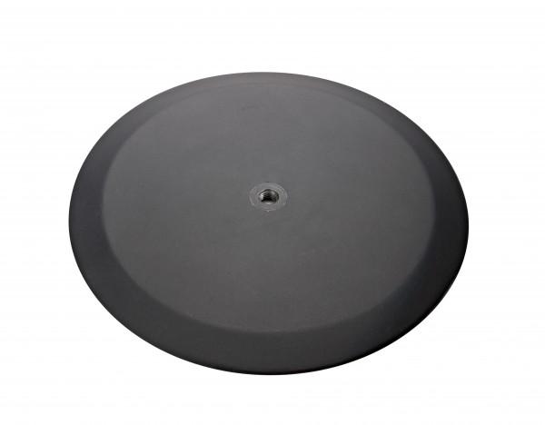 K&M 26700 Rundsockel schwarz struktur