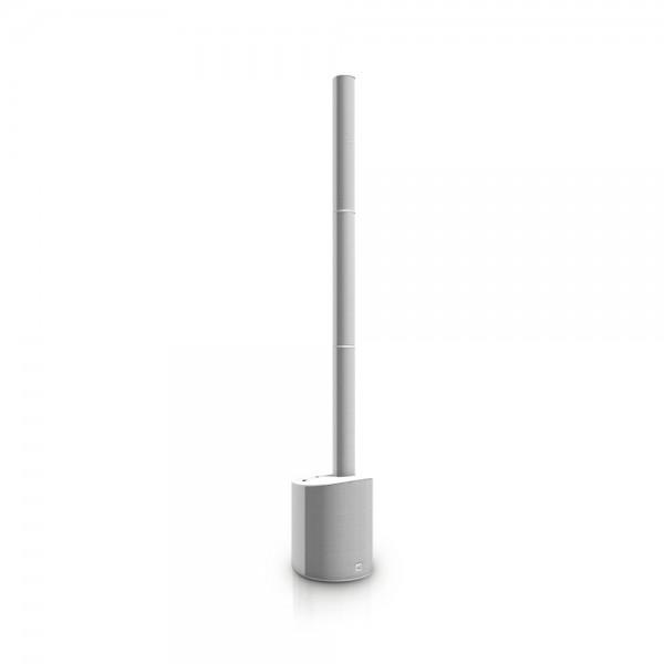 LD Systems MAUI 5 W - Ultra portables Säulen PA System mit Mixer und Bluetooth weiß