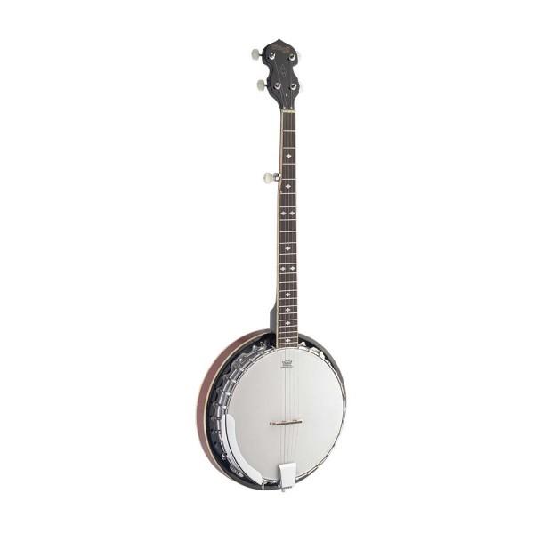 STAGG BJM30 DL 5-saiten Bluegrass Deluxe Banjo m. Metall-Kessel