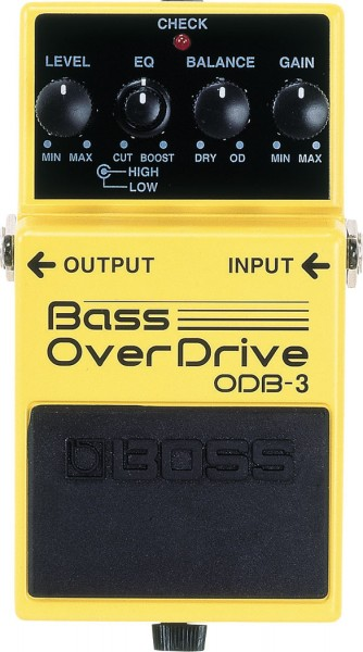 Boss ODB-3 Bass Overdrive / Verzerrer