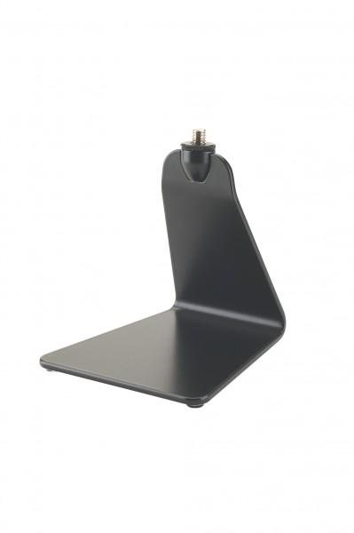 K&M 23250 Design Mikrofon-Tischstativ schwarz