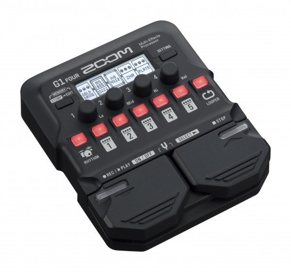 Zoom G1 FOUR Guitar Multi-Effects Pedal