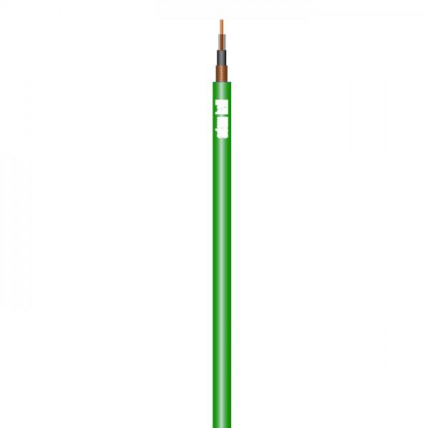 Adam Hall Cables Player G - Instrumentenkabel 1 x 0,22 mm² grün