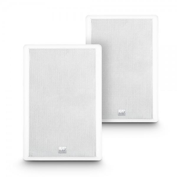 """LD Systems Contractor CWMSS 5 W - 5,25"""" 2-Wege-Wandlautsprecher, flach, weiß (Paar)"""