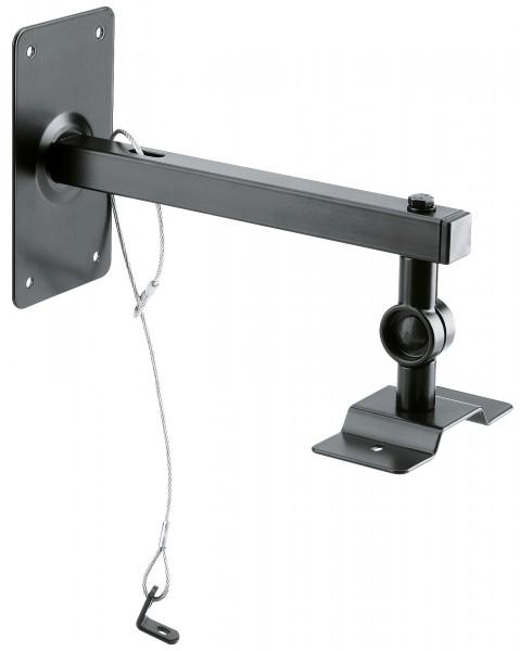 K&M 24195 Boxenwand-/Deckenhalter schwarz
