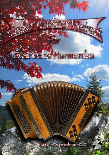 Lieder unserer Heimat für Steirische Harmonika mit CD