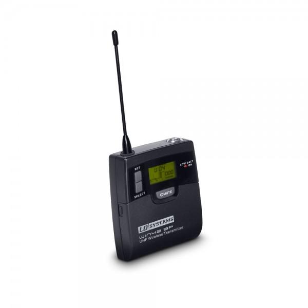LD Systems WIN 42 BP B 5 - Belt Pack Sender für LD WIN 42 BPH B 5 Funkmikrofon System