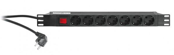 "K&M 28675 19""-Power Box schwarz"