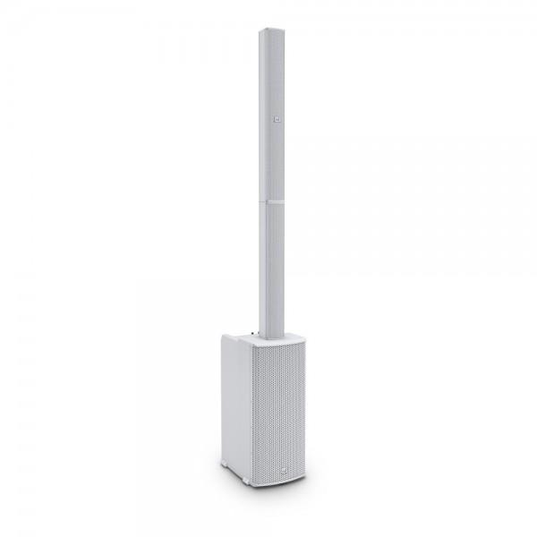 LD Systems MAUI 11 G2 W - Portables Säulen PA System mit Mixer und Bluetooth weiß