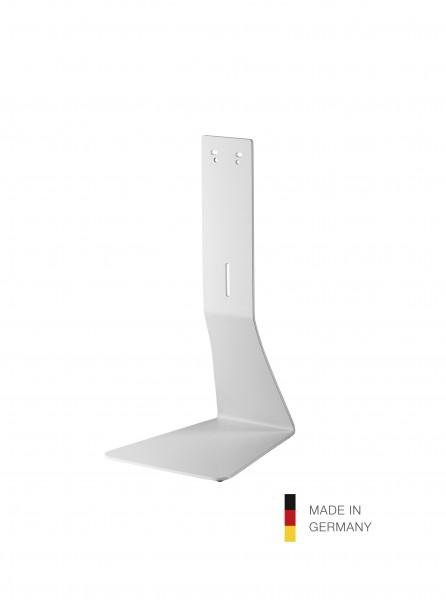 K&M 80360 Tischstativ für Desinfektionsmittelspender reinweiß