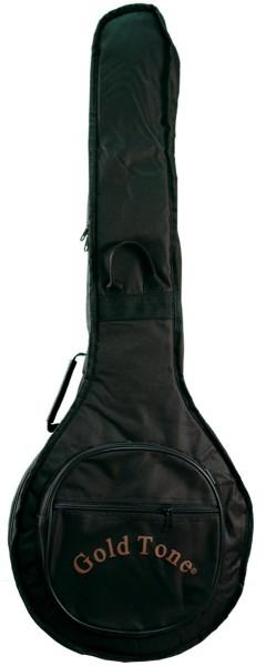 GOLD TONE AC-1 5-Saiter, offener Bautyp, Banjo mit Tasche