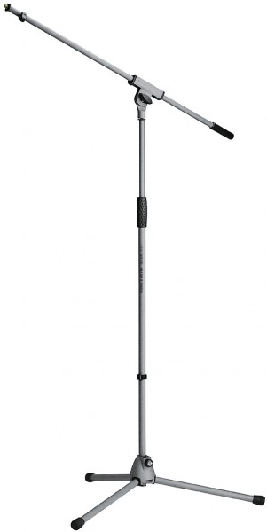 K&M 21060 Mikrofonstativ »Soft-Touch« basaltgrau